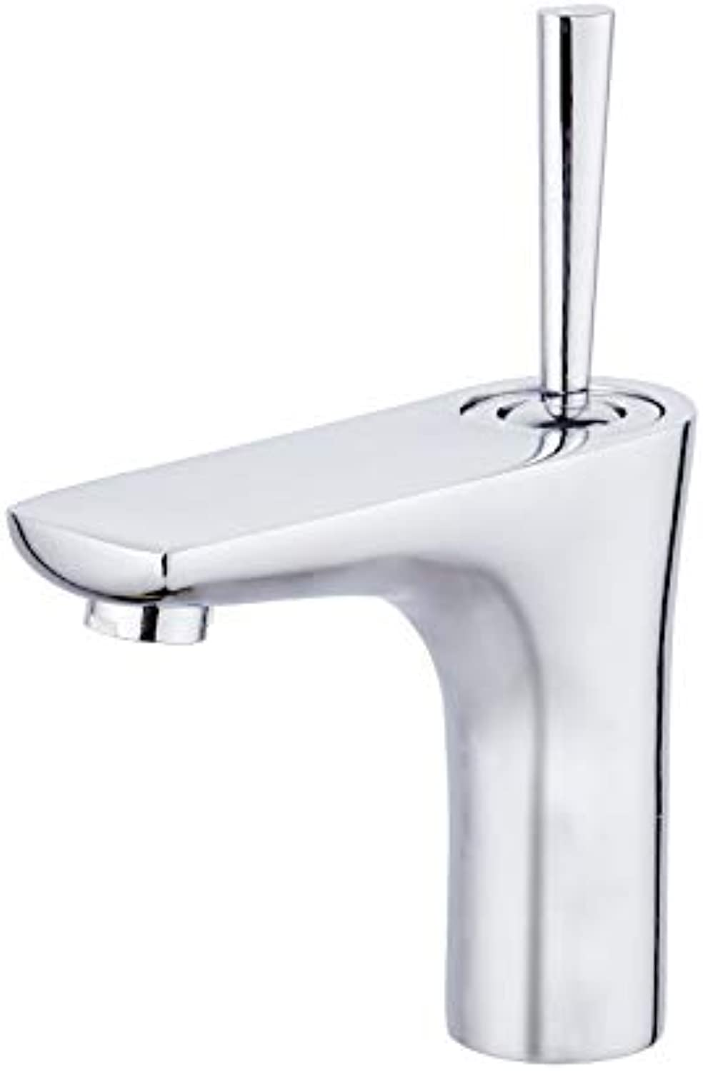 Pen Handle Washbasin Faucet Universal Spool Core Copper Basin Above Counter Basin Faucet Standard - No Inlet Pipe
