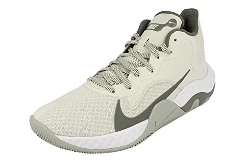 Nike Renew Elevate Hombre Basketball Trainers CK2669 Sneakers Zapatos (UK 8.5 US 9.5 EU 43, Photon Dust Smoke Grey 002)