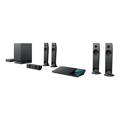 Sony BDV-N7100WB 5.1 Blu-ray Heimkinosystem (1000Watt / 4k UltraHD Upscaling / 3D / W-LAN, Bluetooth, NFC)