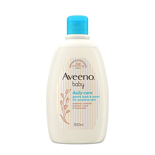 Aveeno Baby Daily Care Gentle Bath & Wash, 500 ml [Packaging May Vary]