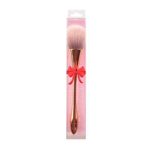 Tingting1992 Brochas q Ampliación de Polvo Suelto Cepillo Suave Polvo del Pelo de la Torta se ruboriza Cepillo de Cepillo del Cepillo del Maquillaje de Cepillo del Maquillaje 1 Pack de Ojos