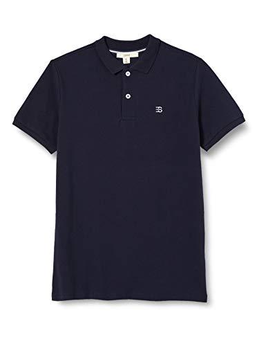 ESPIRT Jungen Poloshirt Polohemd, Navy Blue, S-140