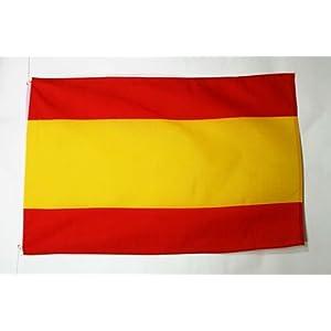 U24 - Bandera de España sin escudo, 90 x 150 cm: Amazon.es: Jardín