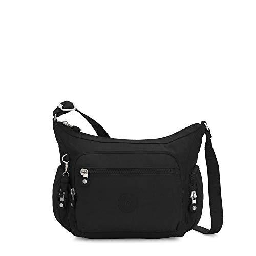 Kipling Women's Gabbie Small Crossbody Bag, black noir, One Size