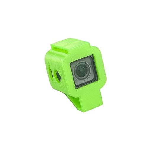 HELEISH RCamera Einfassung 30 Grad TPU-Schutzhülle 3D Printed for FOXEER Box Box 2 4K FPV RC Drone-Schwarz-Grün DIY Montageteile (Color : Green)