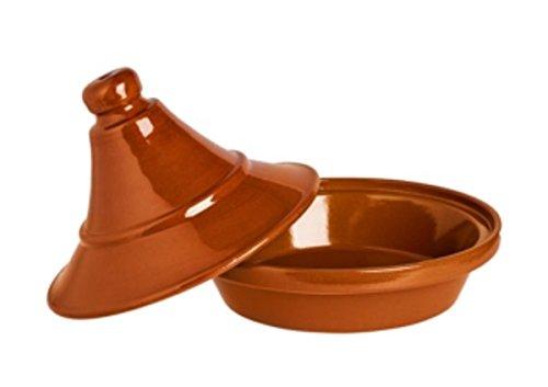 Alar Tajine 2427 - Cacerola (cerámica, 2,4 L, 27 cm de diámetro, 20,5 cm de altura)