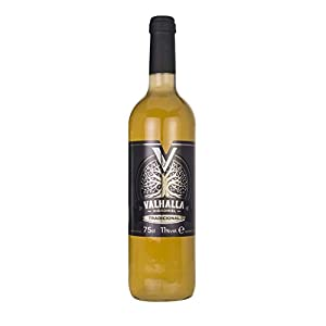 Valhalla Hidromiel Tradicional | Bebida Ecológica, Aroma Afrutado, Sabor Semi-seco, Botella de 75 cl
