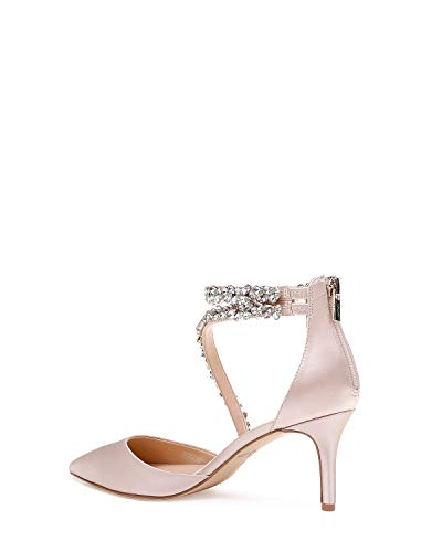 Jewel Badgley Mischka Women's JAYLAH Shoe, champagne,  9 Medium US