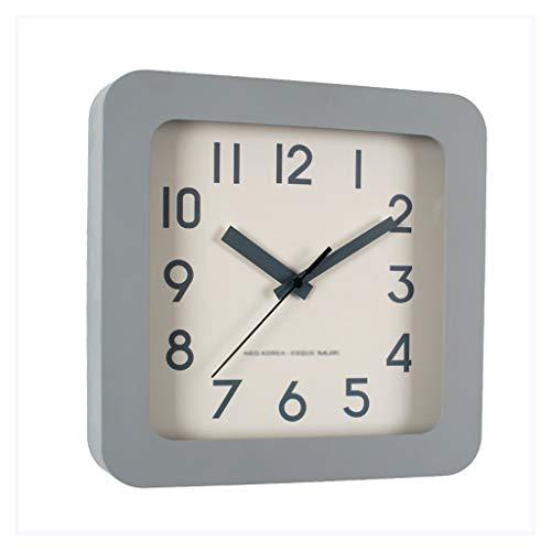 Relojes de Suelo MUTE NORDIC MESA RELOJ DE MESA RELOJ DE ESCRITORES Plaza Péngulo simple Relojes de escritorio Relojes de escritorio Decoraciones de sala de estar relojes de escritorio Amarillo gris R