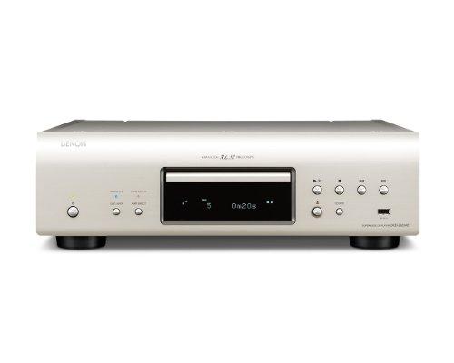 Denon DCD-2020AE High End CD/SACD-Player (CD, SACD, USB, 32-Bit Wandler) Premium Silber
