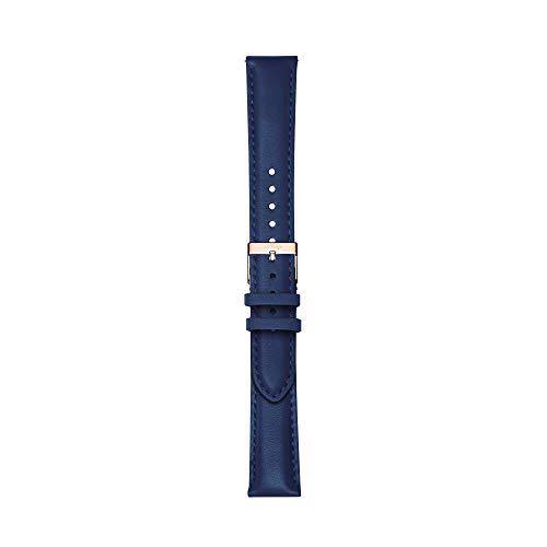 Withings Bracelet en Cuir Premium pour ScanWatch, Steel...