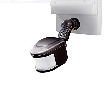 WAC Lighting MS-120-BK Endurance Motion Sensor Wall Lighting, Architectural Black