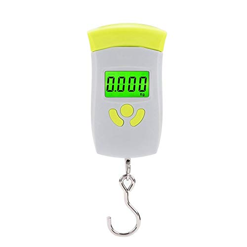 KSTE Portable Electronic LCD Hanging Luggage Digital Scales Pocket 50kg Weight Scale