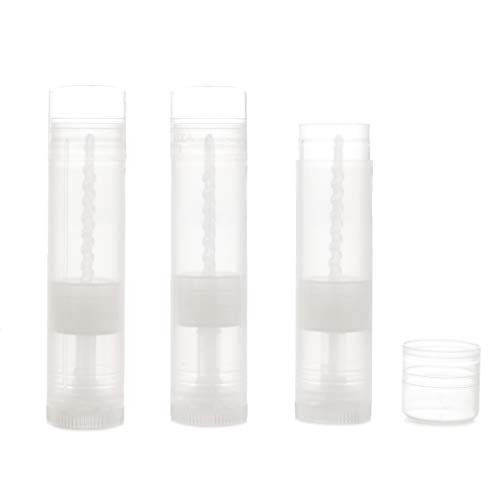 Milliard Lip Balm Crafting Tube Refills -BPA Free- 100 Pack - Clear