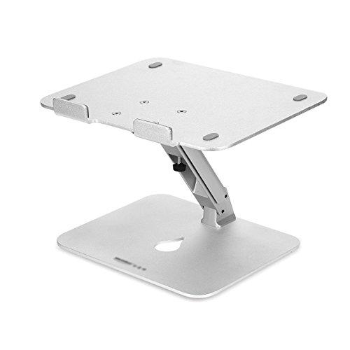 LBYMYB Soporte para ordenador portátil de aleación de aluminio ajustable plegable mesa plegable