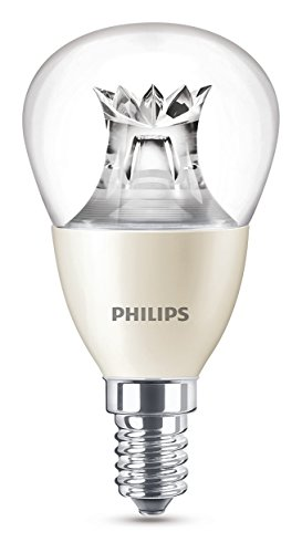 Philips LED Lampe WarmGlow ersetzt 40 W, EEK A+, E14, warmweiß (2700 Kelvin), 470 Lumen, klar, Dimmbar, 8718696453568