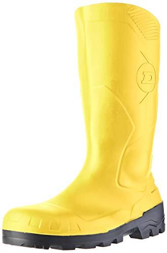 Dunlop Protective Footwear Devon full safety  Unisex-Erwachsene Gummistiefel, Gelb 43 EU