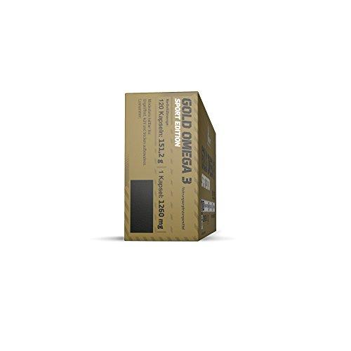 Olimp Gold Omega 3 Sport Edition 120 Kapseln, 1er Pack (1 x 151,2 g) - 4