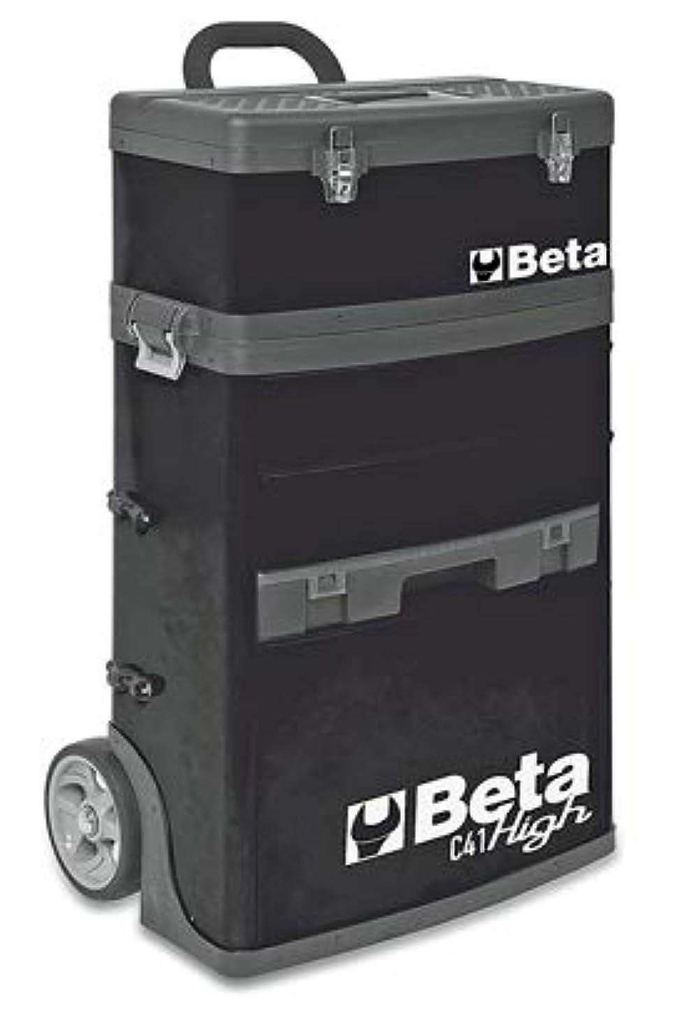 いう有力者没頭するBeta ベータ 2モジュールツールトロリー ブラック C41HBK