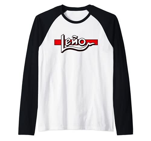 Leño_Band Rock España Camiseta Manga Raglan