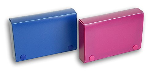 Index Card Organizer with Dividing Tabs - Set of 2 - Colors Vary