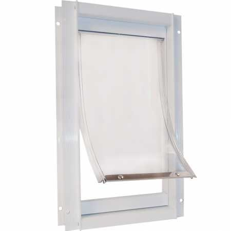 Ideal Pet Products Replacement Flap/New Style Plastic/Deluxe Pet Door, Small - 5' x 7' Flap Size