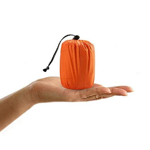 Suppyfly - Saco de dormir de emergencia térmico impermeable para actividades al aire libre, supervivencia, hiking y camping