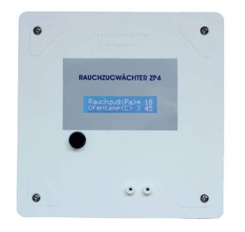 Rauchzugwächter ZP4 Aufputz Ausführung LCD
