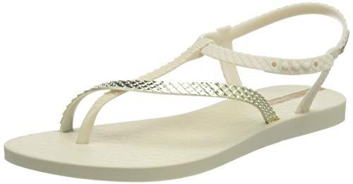 Ipanema Damen Class Wish II FEM Sandale, beige/Gold, 37 EU