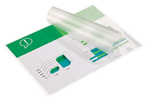 GBC Buste Pouch Lucide per Plastificazione A3, 2 x 125 Micron, Confezione da 100, 3200725