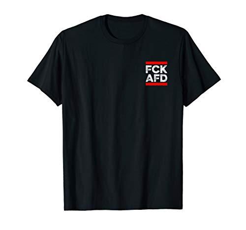 FCK AFD | Gegen Rassismus Faschismus Dezentes Schlicht T-Shirt