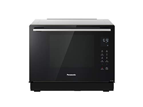 Panasonic 4in1 Kombi Dampfbackofen mit Mikrowelle Horno de vapor, Acero inoxidable negro