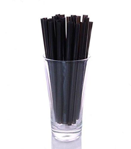 "BarConic 6"" Straws - Black"