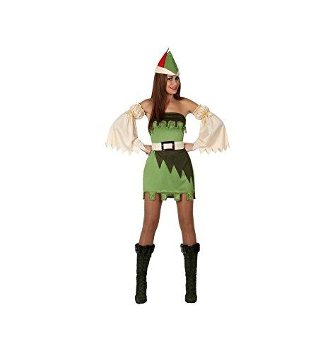 Atosa - 15711 - Costume - Déguisement De Fille Des Bois - Adulte - Taille 3