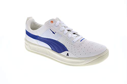PUMA California Ader Error Mens White Suede Low Top Lace Up Sneakers Shoes 9.5