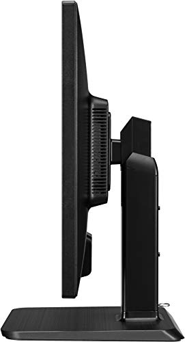LG 22BK55WY-B 55,88cm 22Zoll LED LCD TFT 1.680x1.050 Pivot 16:10 1000:1 250cd 5ms USB DVI-D DPort 1.2 2x1W VESA TN TCO7.0 schwarz