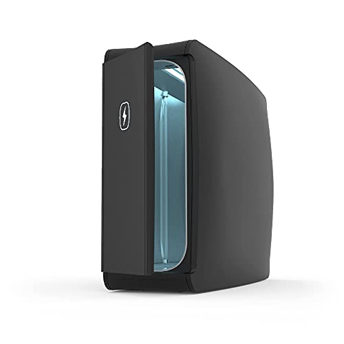 HomeSoap UV Sanitizer | Patented & Clinically Proven UV Light Disinfector | (Black)