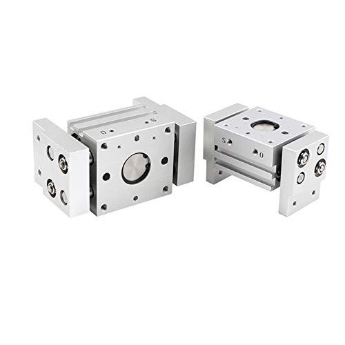 Electroválvula de líquido y gas 91MHL2 10D 16D 20D 25D 32D 40D 1 2 neumático de doble acción de agarre ancho de aire tipo pinza paralela Cilindro Al Sujetadores de Diámetro 10-40mm Cierre inteligente