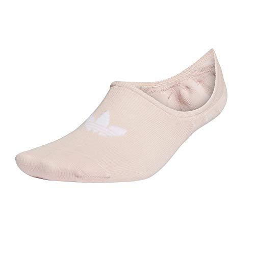 Adidas Low Cut - Calcetines para mujer (3 unidades) rosa y blanco 34-36