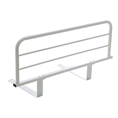Foldable Bed Rail Safety Side Guard For Elderly, Adult Guardrail Bedside Handrails Shatter-resistant Railings (Shape : 20CM Bracket, Size : 120cm)