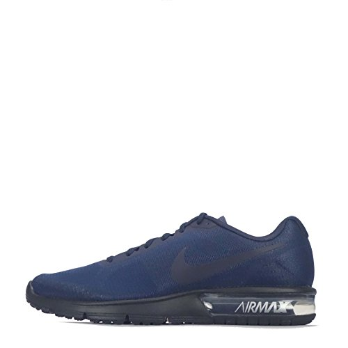 Nike 719912-410, Scarpe da Trail Running Uomo, Blu, Nero (Obsidian Black), Nero, Argento Metallizzato (Metallic Silver), 43 EU