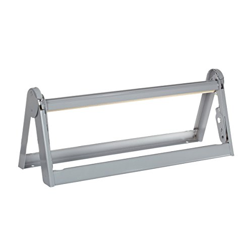 UltraSource Paper Roll Dispenser/Cutter, Powder Coated Steel, 15' Width
