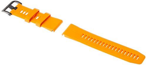Garmin 010–12741–03Quickfit 26Bracelet de montre– Coque en silicone–accessoire Band pour Fenix 5x Plus/Fenix 5x , orange