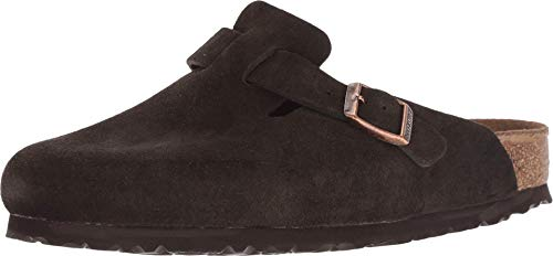 Birkenstock Boston Soft Footbed Leather Clogs