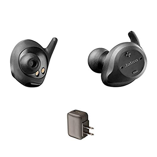 Global Teck Bundle Jabra Elite Sport Wireless Earbuds - Earbuds Bundle - Includes AC Wall Charger