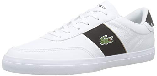 Lacoste Herren Court-Master 319 6 CMA Sneaker, Weiß (White/Black), 43 EU