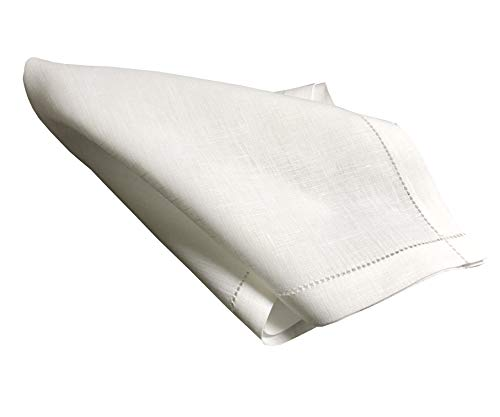 Handkerchief unique traditional linen 4th anniversary gifts for men -