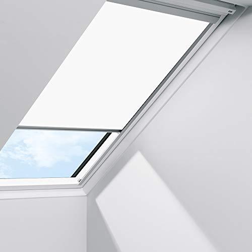 Orignal VELUX Sichtschutzrollo RFL F06 1028S / Bedienart : Manuell / Farbe : Uni Weiß / Fenstergröße : F06 / Fenstertypen : GGU, GPU, GHU, GTU, GXU, GGL, GPL, GHL, GTL, GXL _23130