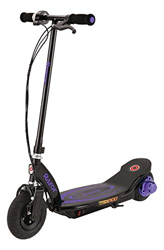 Razor Power Core E100 Electric Scooter - Black Deck - Purple