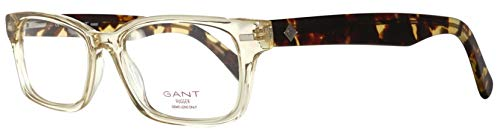 GANT GRA015 54A36 Brille GRA015 54A36 Rechteckig Brillengestelle 54, Transparent